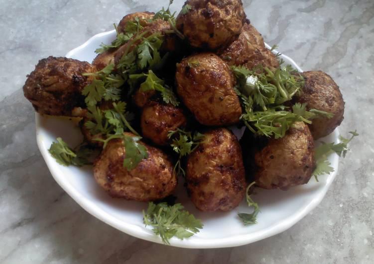 Baked Baby Potato Masala