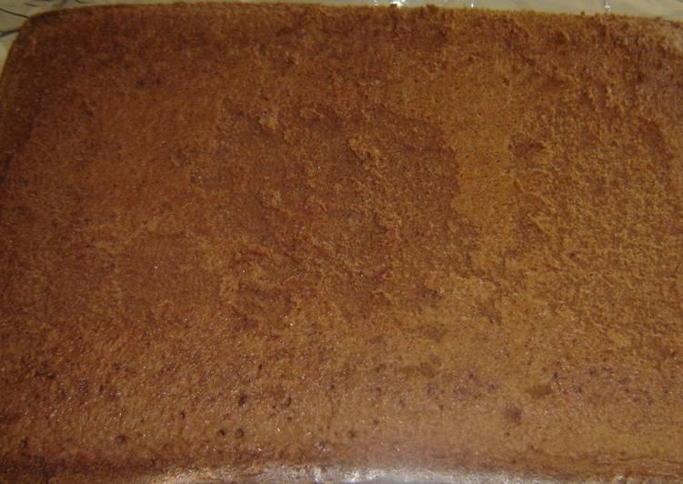 Butterless Chocolate Cake