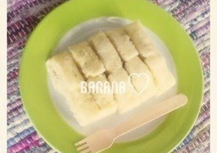 Egg free microwave steamed banana bread for baby food recipe by egg free microwave steamed banana bread for baby food forumfinder Choice Image