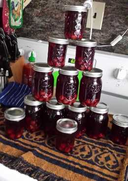 Tart Cherry Pie Moonshine