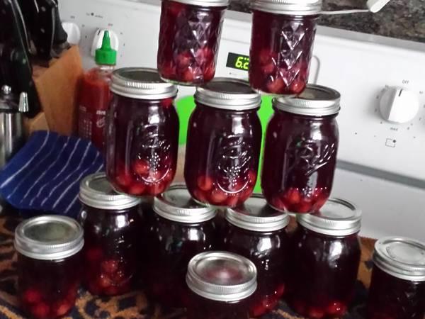Tart Cherry Pie Moonshine