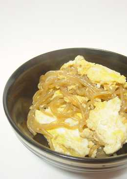 Shirataki Noodles with Egg