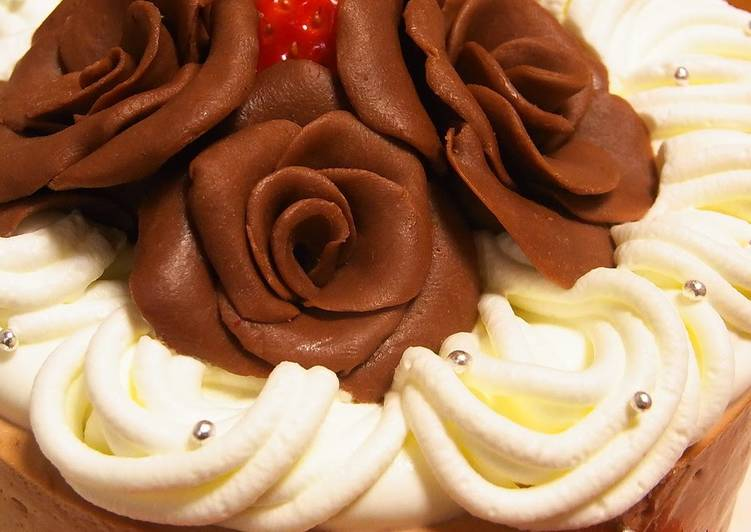 Easy And Decorative Chocolate Roses For Valentine S Day Recipe By