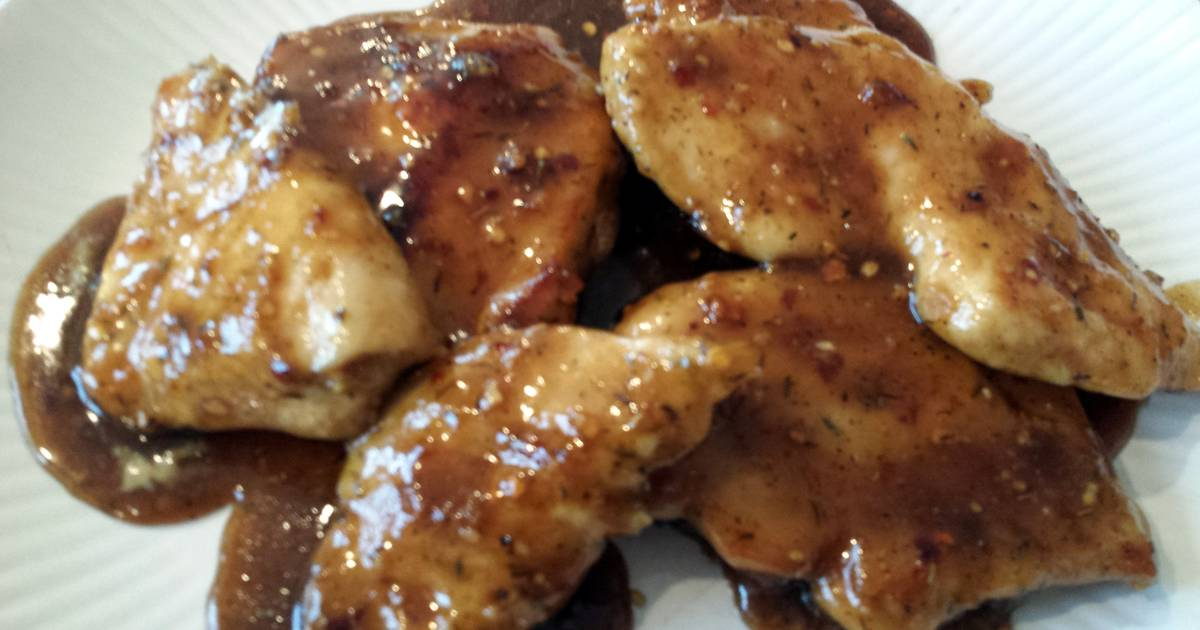 Caramelized chicken breasts Recipe by Mrsrachaelr - Cookpad