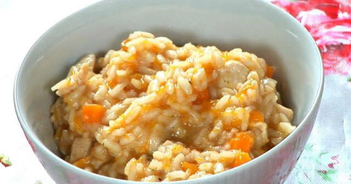 Healthy Risotto With Carrots Tomatoes Chicken Recipe By Em