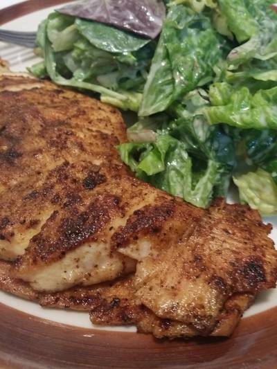 Quick and Easy Spiced Chicken Breast