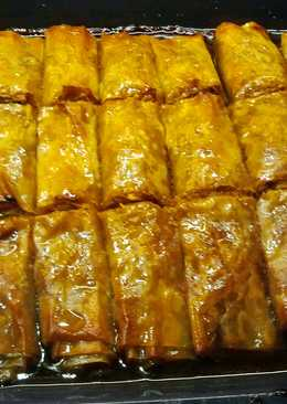 Baklava with pumkin