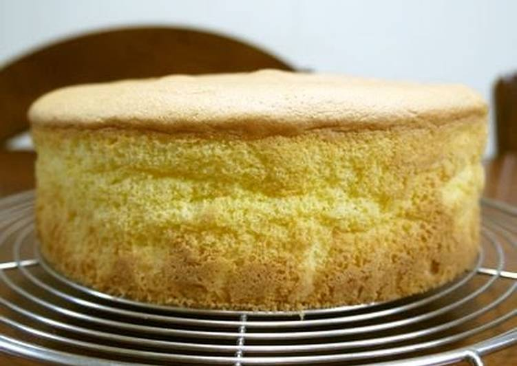 how to make sponge cake fluffy