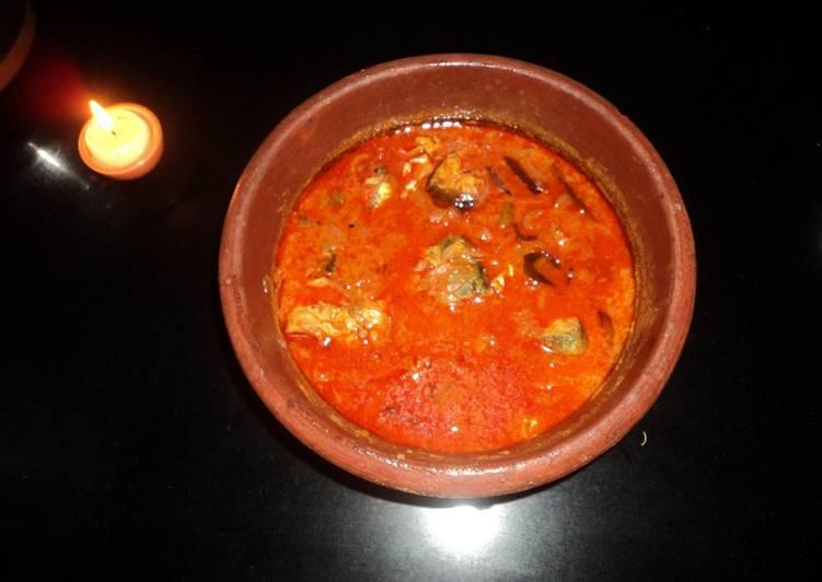 Mackerel fish curry