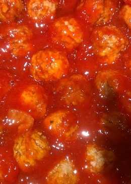 Easy Barbecue Meatballs