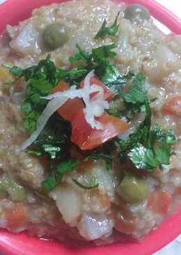 Mix veg healthy daliya