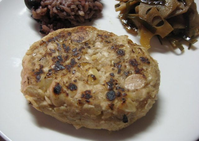 Macrobiotic Soybean Hamburger Patties