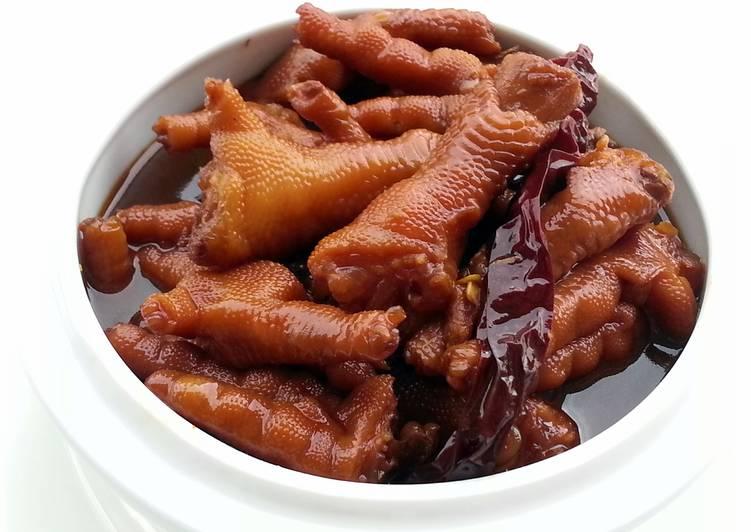 Braised Chicken Claws Recipe By Lee Goh Cookpad