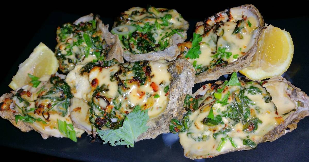 Mike's EZ Pappadeaux Grilled Oysters