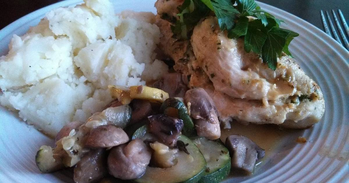 Lemon Chicken Breasts with Capers Recipe by HardDog1110 ...