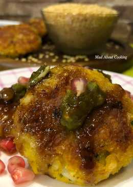 Oats Moong Daal Tikki (Oats Yellow Lentils Cutlets) – Protein-Rich Snacks – Non-Fried Snacks
