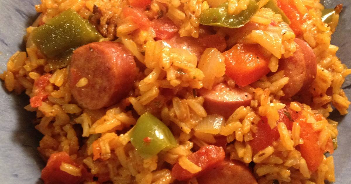 Sausage Amp Peppers Rice One Pot Meal Recipe By Supernanny Cookpad