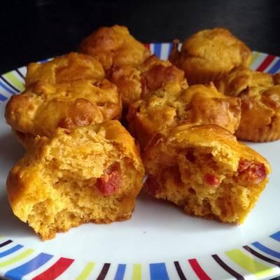 Sophie's Chili Chorizo Cheese muffins