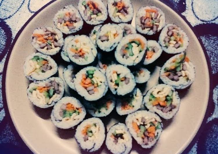 My  lunch box Kimbap / Gimbap