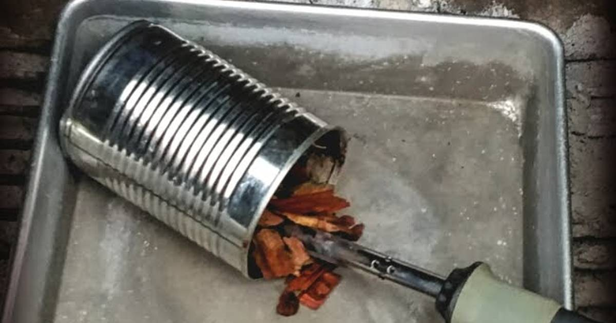 the macgyver cold smoker recipe by king crimson cookpad. Black Bedroom Furniture Sets. Home Design Ideas