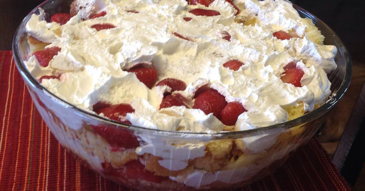 Southern Strawberry Punch Bowl Cake Recipe By Pete Landis