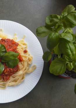 Spaghetti pork sauce recipe