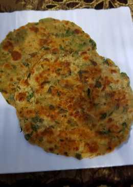 Methi Paratha #Green leaf