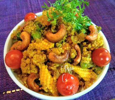 Quinoa Dum Biryani