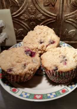 Blueberry Muffins Fit for a King