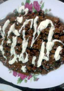 Home made pork SISIG!