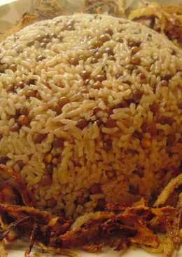 Mejaddarah- Syrian recipe