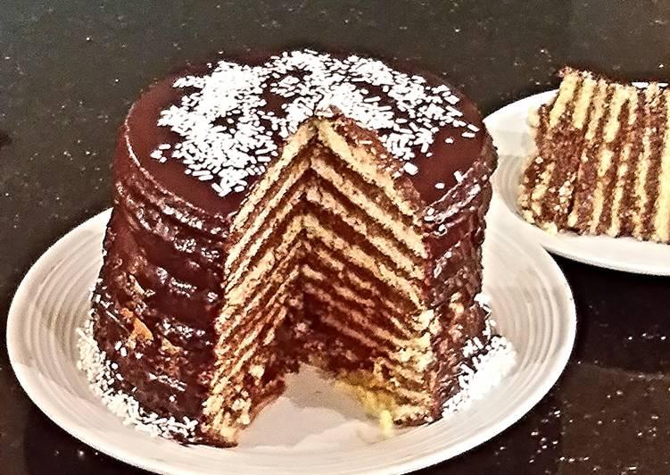 Layered Vanilla Cake Recipes: 12 Layer Vanilla Sponge Cake Recipe By Fenway