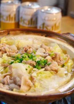 Garlic butter pork recipe