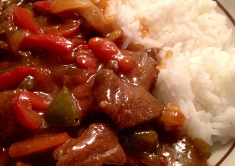 Spicy Pepper Steak Recipe by supernanny - Cookpad