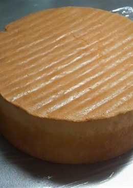 Fluffy And Moist Sponge Cake