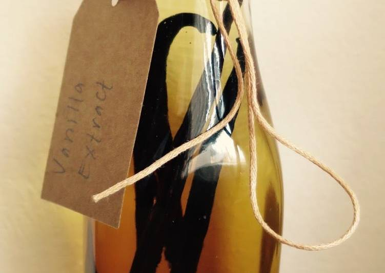 Home Made Vanilla Extract Recipe by Sarah Sears - Cookpad Kenya
