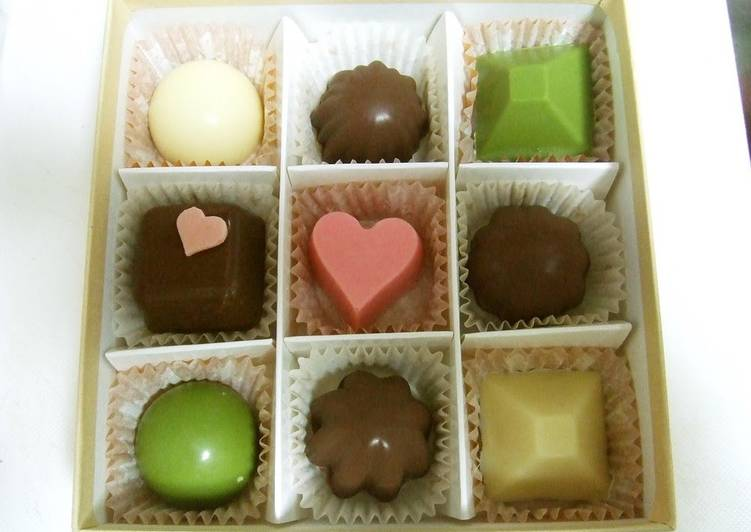 Valentine S Day Chocolate Recipe By Cookpad Japan Cookpad India