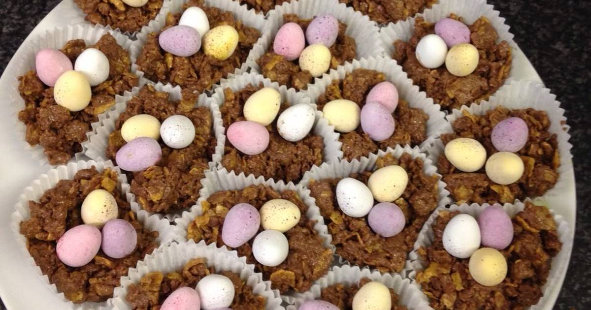 Easter egg nests Recipe by Mandy - Cookpad