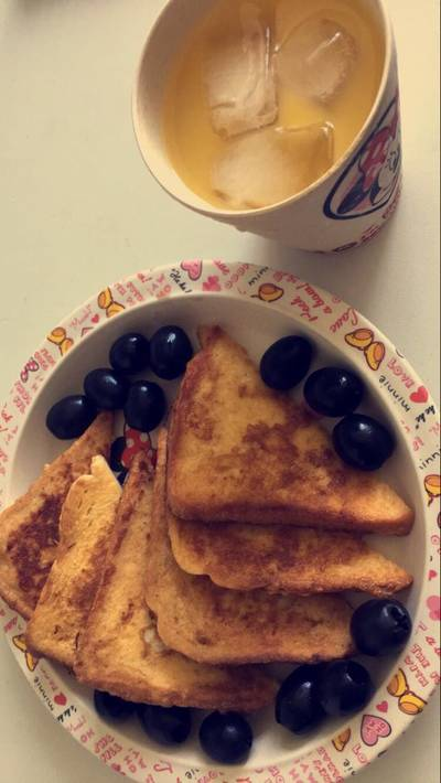 Simple French toast 💕🍞