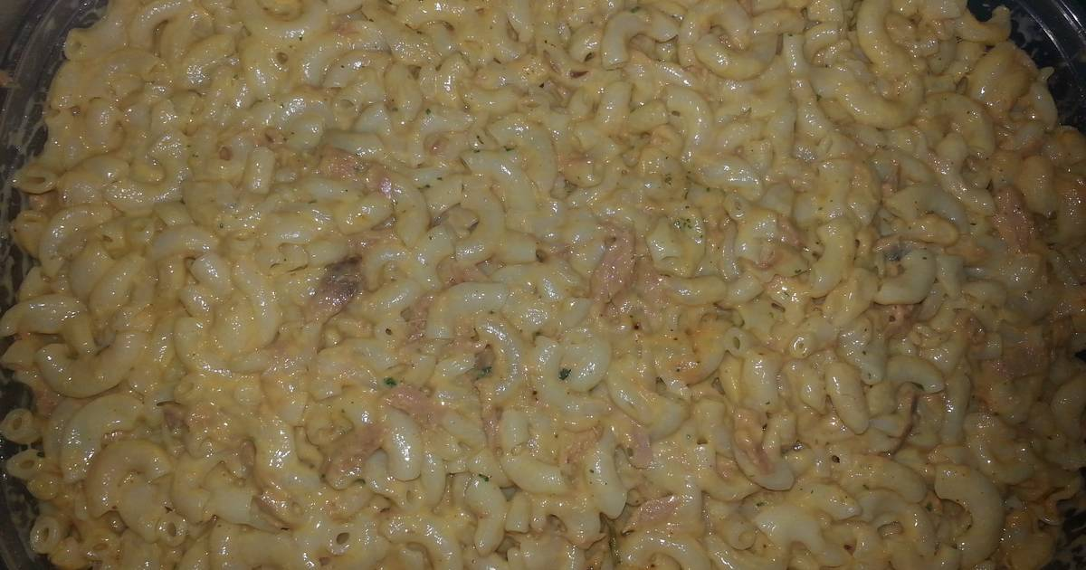 My Simple Easy Tuna Casserole Recipe By Candiemack Cookpad: tuna and philadelphia pasta