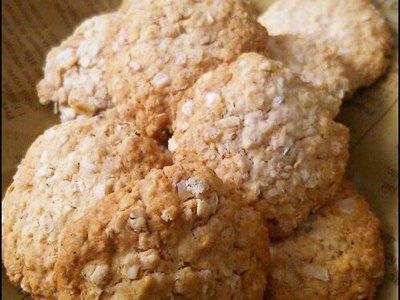 Healthy Rice Flour & Oatmeal Cookies