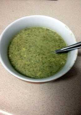 broccoli and zucchini cream soup