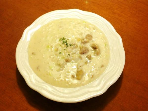 10-Minute Chestnut Risotto