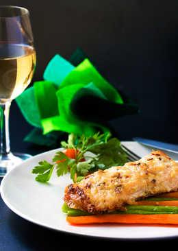 Parmesan Garlic Salmon