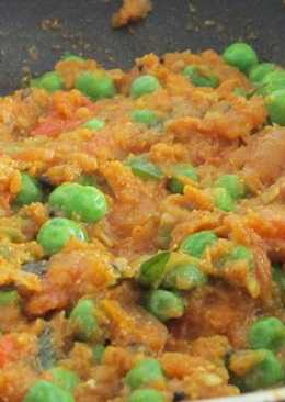 Mutter Masala (Green Peas Masala)