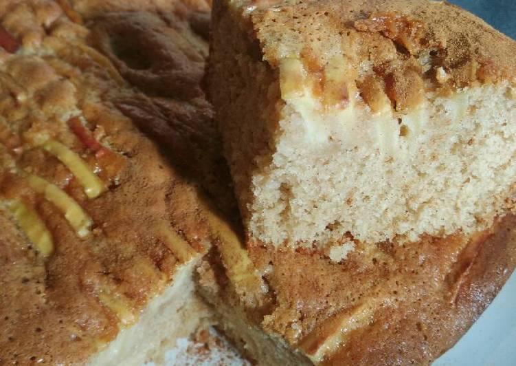 Easy-peasy apple cake #helpfulcook