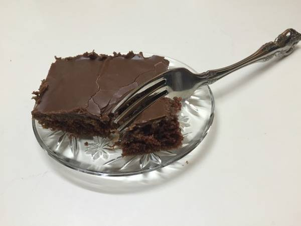 30 Minute Chocolate Cake (Buttermilk Brownies)