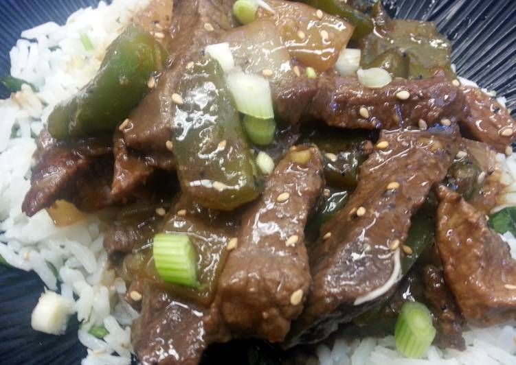 Black Pepper Steak Recipe by ChefDoogles - Cookpad