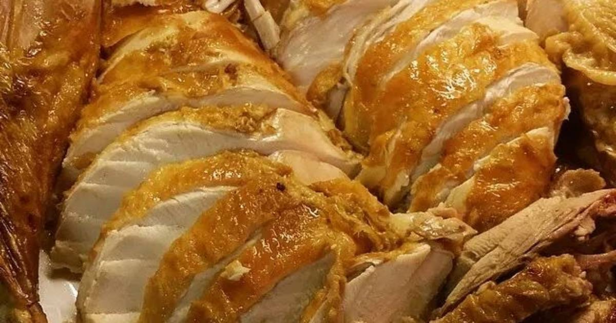 Frozen turkey still delicious cooked from frozen recipe for 3 8 kg turkey cooking time
