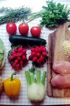 resep masakan chicken an vegetable casserole